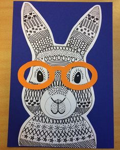 Funky Easter Bunny Craft Template Teaching Resource – Teach Starter