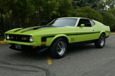 1972 Ford Mustang #cars #coches