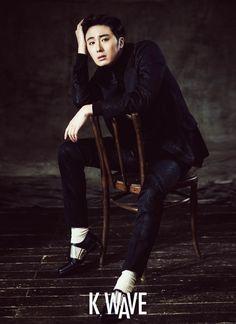 Jung Il Woo - K Wave Magazine December Issue '14