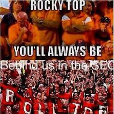This is the only way I'll sing Rocky Top!