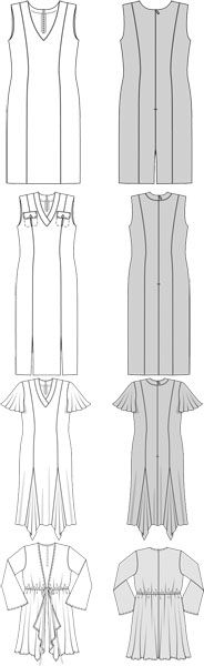 dress & jacket pattern