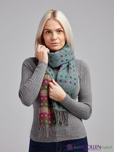 Discover our collection of Double Sided Colorful Scarfs and :) More colors available just click away from here Polka Dot Scarf, Polka Dots, Scarfs, Colorful, Stuff To Buy, Collection, Fashion, Moda, Scarves