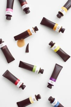 Chocolate Paint packaging by Japanese designer Nendo