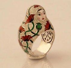 Ilgiz-Fazulzyanov, nesting doll ring: