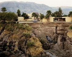 Joel Sternfeld After A Flash Flood, Rancho Mirage, California 1979 from American Prospects Digital c-print Edition of 10 with 2 artist's proofs Image size: 42 x 52 1/2 inches Paper size: 48 x 58 1/2 inches