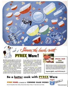 1952 My Mom used these. I still have large red &a yellow bowls that were hers.