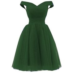 Nina A-line Tulle Prom Formal Evening Homecoming Dress Ball Gown... (250 RON) ❤ liked on Polyvore featuring dresses, green cocktail dress, formal evening dresses, prom dresses, a line evening gowns and prom evening dresses