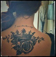My third tattoo crown roses ladygaga I love it - Meine . - My third tattoo crown roses ladygaga i love it – My third tattoo crown roses la - Dope Tattoos, Pretty Tattoos, Beautiful Tattoos, Body Art Tattoos, Tattos, Skull Tattoos, Piercing Tattoo, Arm Tattoo, Sleeve Tattoos