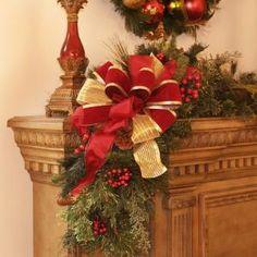 Holiday Mantle Corner Piece by Wayfair