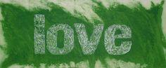 Green Love, carborundum, 140x80 cm