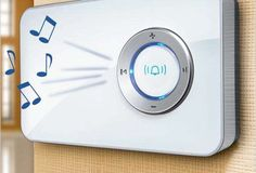The MP3 Radio Doorbell Brings Ringtones to Your Residence Entry #doorbells trendhunter.com