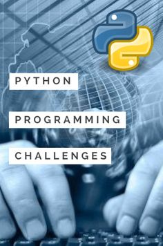 New style Python challenges including tasks, answers and example code.