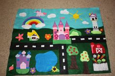 Play mat for little princesses.