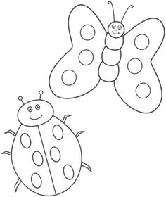 Exclusive Photo of Butterfly Coloring Page . Butterfly Coloring Page Ladybug And Butterfly Coloring Page Insects Insect Coloring Pages, Ladybug Coloring Page, Butterfly Coloring Page, Coloring Pages To Print, Free Printable Coloring Pages, Coloring Pages For Kids, Coloring Sheets, Simple Butterfly, Butterfly Kids