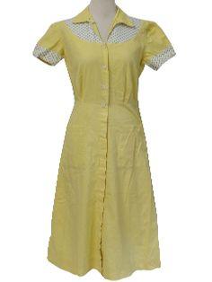 1940's Womens Day Dress
