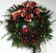 Ideas for xmas wreath 2011