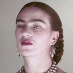 Painter Frida Kahlo was a Mexican self-portrait artist who was married to Diego Rivera and is still admired as a feminist icon.