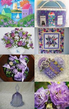 Violet Hills by arcadecache on Etsy--Pinned with TreasuryPin.com