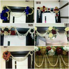 Toran n hanging - Angel - Hotel Thali Decoration Ideas, Diy Diwali Decorations, Festival Decorations, Handmade Decorations, Flower Decorations, Wedding Decorations, Engagement Decorations, Diy Decoration, Wedding Crafts