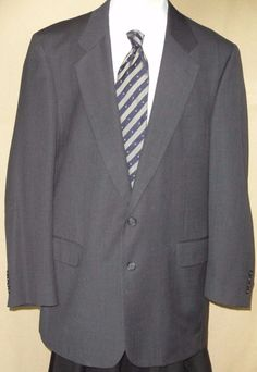 Jos A Bank Executive Collection Men's Multi-Color Wool 2 Button Suit Size 46XL #JosABank #TwoButton