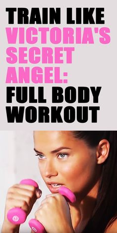 Adriana Lima full-body workout routine. #victoriassecret #modelworkout