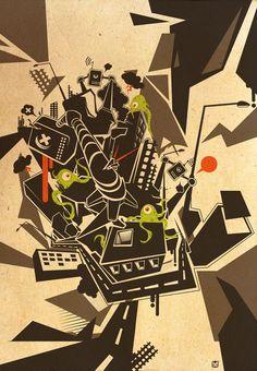 Artworks by Konrad Kirpluk