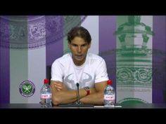 ▶ Rafa Nadal on a 'difficult' match - Wimbledon 2014 - YouTube