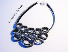 zipper necklace | zipper necklace - kimoa