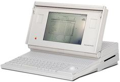 Macintosh Portable US$7300 w/ hard drive. Next time I wont complain about the price of a new Macbook pro...