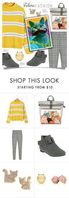 """""""The Cat's Meow"""" by mahafromkailash ❤ liked on Polyvore featuring Alexander Wang and Betsey Johnson"""