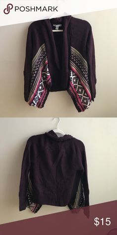 Knit cardigan Super cute!  Gently worn Sweaters Cardigans