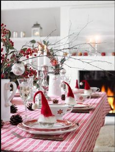 Here are the Diy Christmas Tablescapes Ideas. This post about Diy Christmas Tablescapes Ideas was posted under the category by our team at August 2019 at am. Hope you enjoy it and don't forget to share this post. Christmas Table Settings, Christmas Tablescapes, Christmas Table Decorations, Wedding Table Settings, Holiday Tables, Decoration Table, Place Settings, Setting Table, Church Decorations