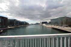 View from Knibbelsbro bridge in Copenhagen