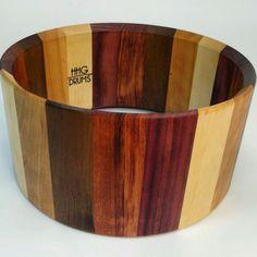 "14x7 ""sampler pack"" exotic wood stave drum"