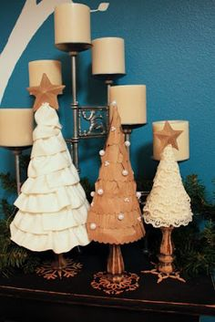 "just what i {squeeze} in: My ""grown-up"" Christmas trees..."