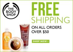 5/13 – 19: Free Shipping on all orders over $50