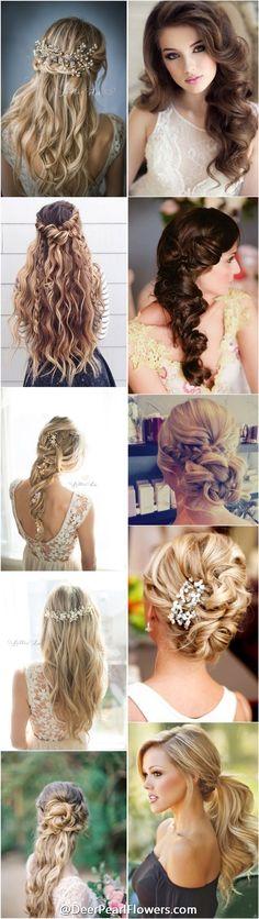 1000+ wedding hairstyles for long hair / http://deerpearlflowers.com/wedding-hairstyles/