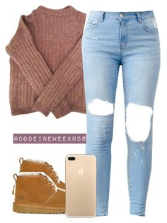 """""""12/31/16"""" by codeineweeknds ❤ liked on Polyvore featuring Acne Studios and UGG"""