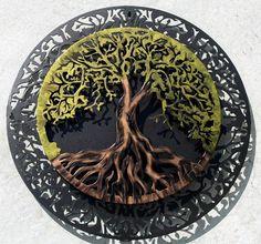 Tree of Life  Metal Wall Art Wall Decor Wedding Gift