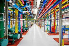 look inside google data center
