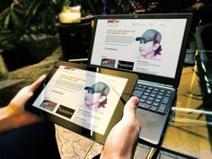 https://www.fiverr.com/dimastama/make-photo-realistic-laptop-and-tablet-mockup  I will create ultra photo-realistic mockup of laptop, tablet and smartphone on cafe.