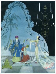 Virginia Sterrett ill for Arabian Nights ~ Penn Publishing ~ 1928