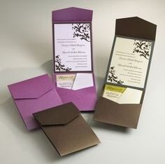 Discover the best ideas for Invitations & Stationery! Read articles and watch videos about Invitations & Stationery. Classy Wedding Invitations, Wedding Invitation Envelopes, Wedding Stationary, Purple Invitations, Event Invitations, Invites, Wedding Paper, Wedding Cards, Diy Wedding