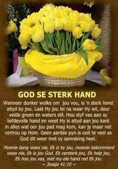 God se sterk hand