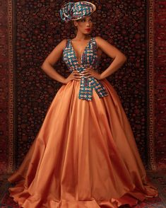 V neck African prom dress for women, African wedding dress, ankara wedding prom dress , cinderalla dress,prom ball dress African Party Dresses, African Wedding Attire, Latest African Fashion Dresses, African Inspired Fashion, African Print Dresses, African Print Fashion, African Attire, African Dress, African Print Wedding Dress