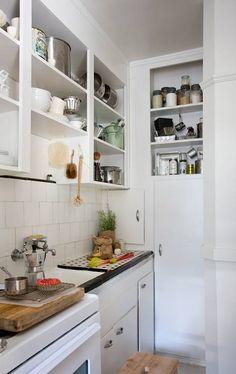 trucos de decoración para cocinas en espacios reducidos