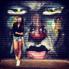 Street art level awesome. Must pose. #sonastravels #sydney