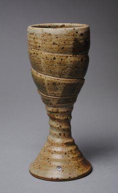 Clay Stoneware Goblet Handmade by JohnMcCoyPottery on Etsy, $30.00 www.etsy.com/shop/JohnMcCoyPottery