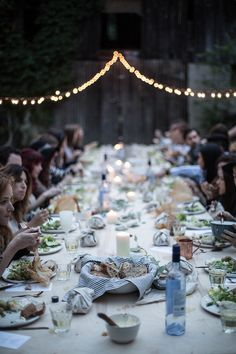 kinfolk l'esprit de la mer dinner / Nashville, TN (by Beth Kirby | {local milk})