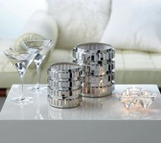 Great idea for a cocktail party or toast. #PartyLite #candles